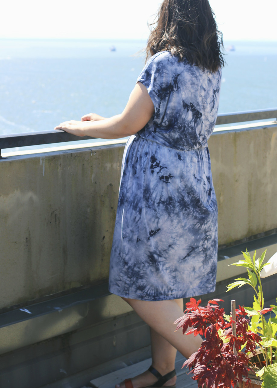 Bamboo Tie Dye Dress 3