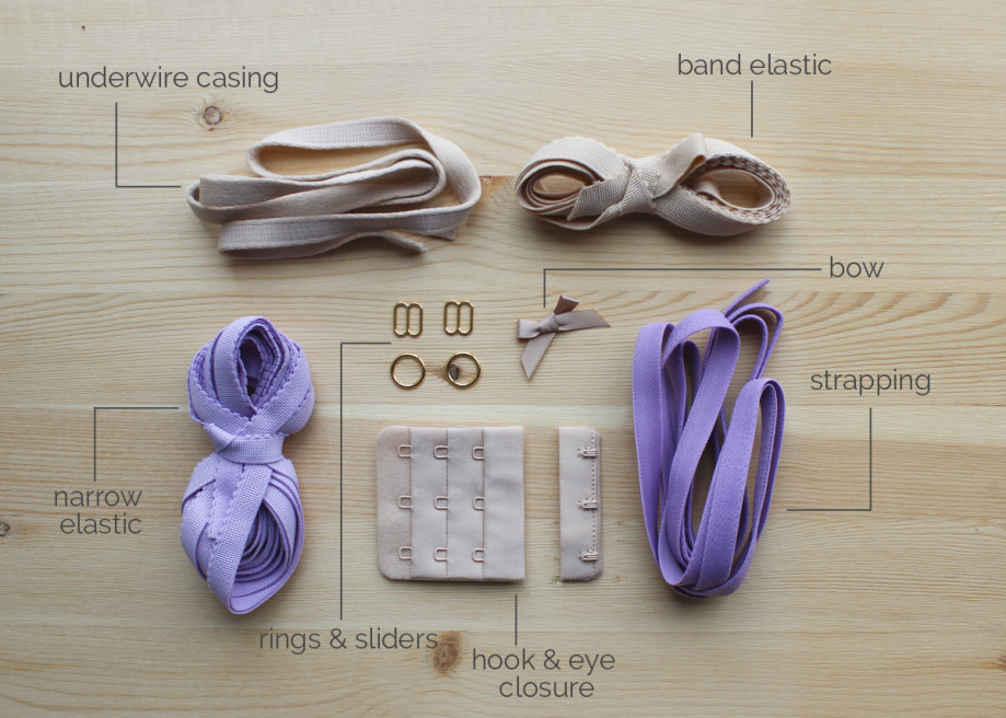 Findings Kit - Orchid & Beige