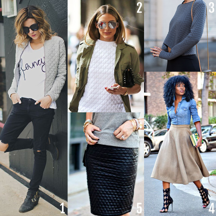 Quilted Fashion Inspiration